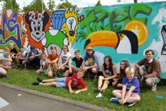 Graffiti Workshop Sommer 2017